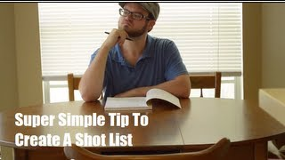 Download Simple Tutorial on How to Create a Shot List - Video Production Tips by Web Video Crew Video
