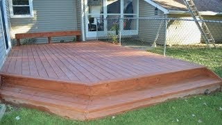 Download How to Build a Ground Level Deck Video