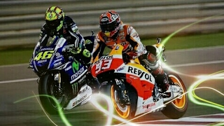 Download Rossi vs Marquez Best Battle - Highlight MotoGP Video