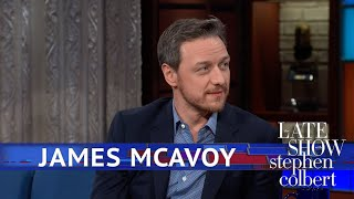 Download James McAvoy Says Saoirse Ronan Influenced 'Glass' Video