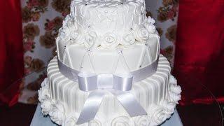 Download Demostração, bolo de casamento Video