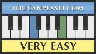 Download Jingle Bells - VERY EASY Piano Tutorial for Beginners Video