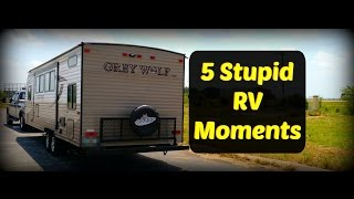 Download 5 Stupid RV Moments - Full Time RV Living Video