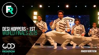 Download Desi Hoppers 1st Place Finals | FRONTROW | World of Dance Finals 2015 | #WODFINALS15 Video