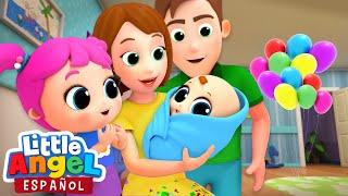 Download ¡Bienvenido Nuevo Hermanito!, Canción del nuevo Bebé | Canciones Infantiles | Little Angel Español Video