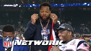 Download Martellus Bennett Joins Deion & LT, ″They Overpay Super Bowl Champs!″ | GameDay Prime | NFL Network Video