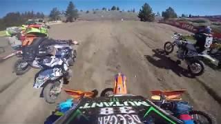 Download Dangerboy Deegan crazy battle for the win! Mammoth motocross GoPro raw! Video
