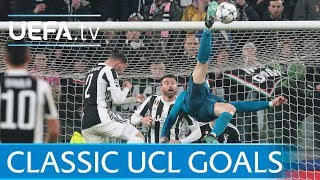 Download Ronaldo's overhead kick and five other classic UCL goals Video