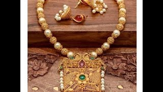 Download Latest Pearl Chain Necklace Desings Video