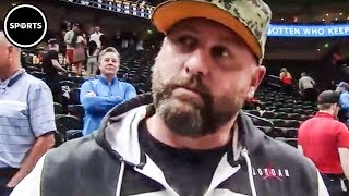Download MAGA Douche Yells Racial Slur At Russell Westbrook Then Runs Away Video