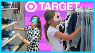 Download SISTER VS SISTER BLINDFOLDED 3 OUTFITS CHALLENGE AT TARGET ″SISTER FOREVER″ Video