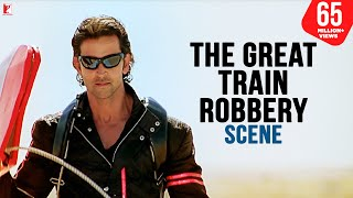 Download Scene: Dhoom:2 | The Great Train Robbery | Hrithik Roshan Video