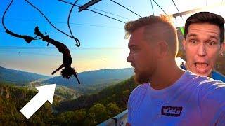 Download Прыжок в пропасть! | Чего боится Дима Масленников? | Redbull Flugtag Video