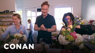 Download Conan Delivers Valentine's Day Bouquets Video