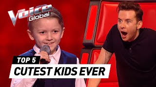Download CUTEST 😍 Blind Auditions worldwide in The Voice Kids [PART 3] Video