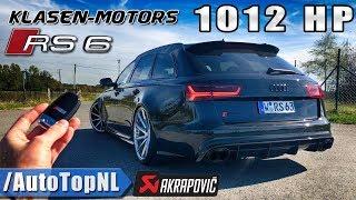 Download 1012HP AUDI RS6 Klasen 330km/h REVIEW POV Test Drive on AUTOBAHN by AutoTopNL Video