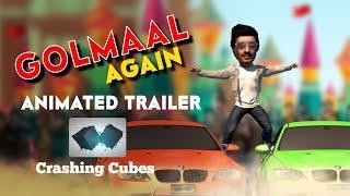 Download Golmaal Again   Animated Trailer   Ajay Devgn   Parineeti Chopra   Rohit Shetty   Crashing Cubes Video