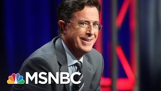 Download Hypocrisy Of Conservatives Upset About Stephen Colbert's President Trump Insults   AM Joy   MSNBC Video