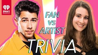 Download Nick Jonas Challenges A Super Fan In A Trivia Battle | Fan Vs. Artist Trivia Video