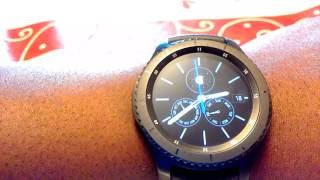 Download Samsung Gear S3 Frontier review (Day 4) - Always on display, Memory, S Health and more Video