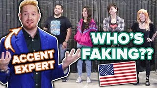 Download Dialect Coach Guesses Who Is Faking An American Accent Video