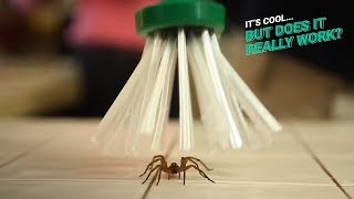 Download Spider Catcher | It's Cool, But Does It Really Work? Video