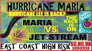 Download Hurricane MARIA Update! SOUTH Carolina NORTH Carolina VIRGINIA Must Be AWARE! Hurricane LEE? Video