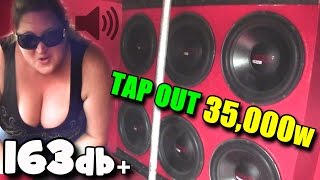 Download Deadly 163db BASS TAP OUTS! Loudest Sound System I Ever Heard / Zack Metts PAINFUL SSA Subwoofer SPL Video