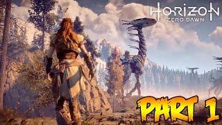Download ″Horizon Zero Dawn″ Part 1 - INSANE ROBOT DINOSAUR WORLD! (Horizon Zero Dawn Gameplay Walkthrough) Video