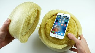 Download Don't Drop Your iPhone 6S in an Expanding Sponge Ball! Video