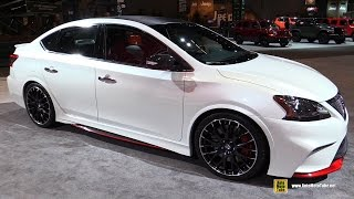 Download Nissan Sentra Nismo Concept - Exterior, Interior Walkaround - 2015 Chicago Auto Show Video