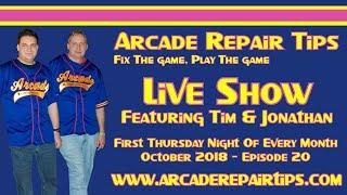 Download Arcade Repair Tips - Live Show - Episode 20 Video