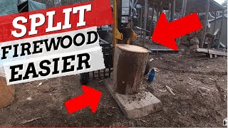 Download Firewood Splitting Trick Never Before Seen on YouTube! EP 36 Video
