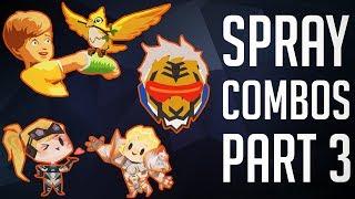 Download The Best Spray Combos #3 [Overwatch] Video