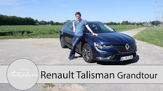 Download Renault Talisman Grandtour TCe 200 EDC Fahrbericht / Frankreich fordert heraus - Autophorie Video