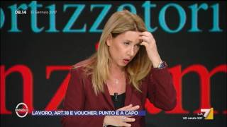 Download Omnibus - Lavoro, art. 18 e voucher. Punto e a capo (Puntata 13/01/2017) Video