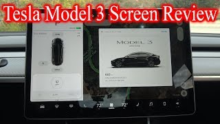Download Tesla Model 3 Screen *IN DEPTH REVIEW* Video