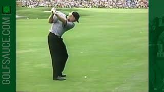 Download Greg Norman and Jose Maria Olazabal Ball Striking Video