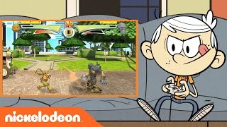 Download The Loud House | Lincoln & Lily Get Their Game On in 'Ultimate Hero Clash 2' | Nick Video
