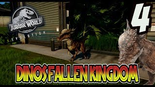 Download STYGIMOLOCH!! DINOS DE FALLEN KINGDOM EN JURASSIC WORLD EVOLUTION! Jurassic World Evolution #4 Video