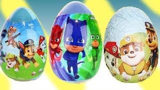 Download Nickelodeon's Paw Patrol & PJ Masks Easter Egg Surprises & HUGE Package Video