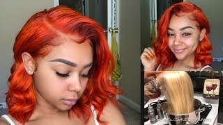 Download HOW I DYED MY 613 BOB IN 10 MINS!   RECHOO HAIR Video