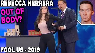 Download Magician REACTS to Rebecca Herrera mentalism on Penn and Teller FOOL US 2019 Video