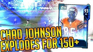 Download Madden 18 Ultimate Team-Legend Chad Johnson Explodes for 150+ yards and a TD!Madden 18 Ultimate Team Video
