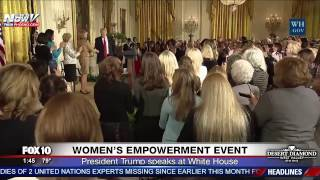 Download WATCH: President Trump Speaks at Women's Empowerment Event at White House Video