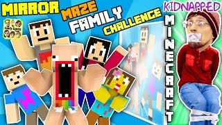 Download KIDNAPPED in MINECRAFT!! FGTEEV MIRROR MAZE Family Challenge! Save DUDDY Mini-Game (Gameplay / Skit) Video