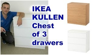Download Ikea KULLEN Chest of drawers assembly Video