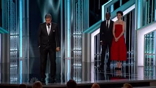 Download Julianna Margulies presents the DeMille Award to George Clooney Video