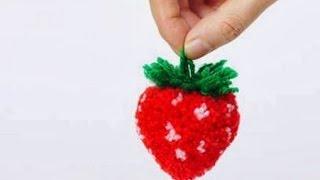 Download Помпон-клубника / Strawberry pompom Video