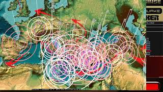 Download 10/22/2017 - Earthquake Forecast - Expect new deep earthquakes - California + Midwest USA unrest Video